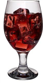 Red Co. Belluno クラシッククリアグラス 水/ジュース/酒用 ワインゴブレット スタイルバリエーション (サイズ名) Set of 6 クリア 390-J