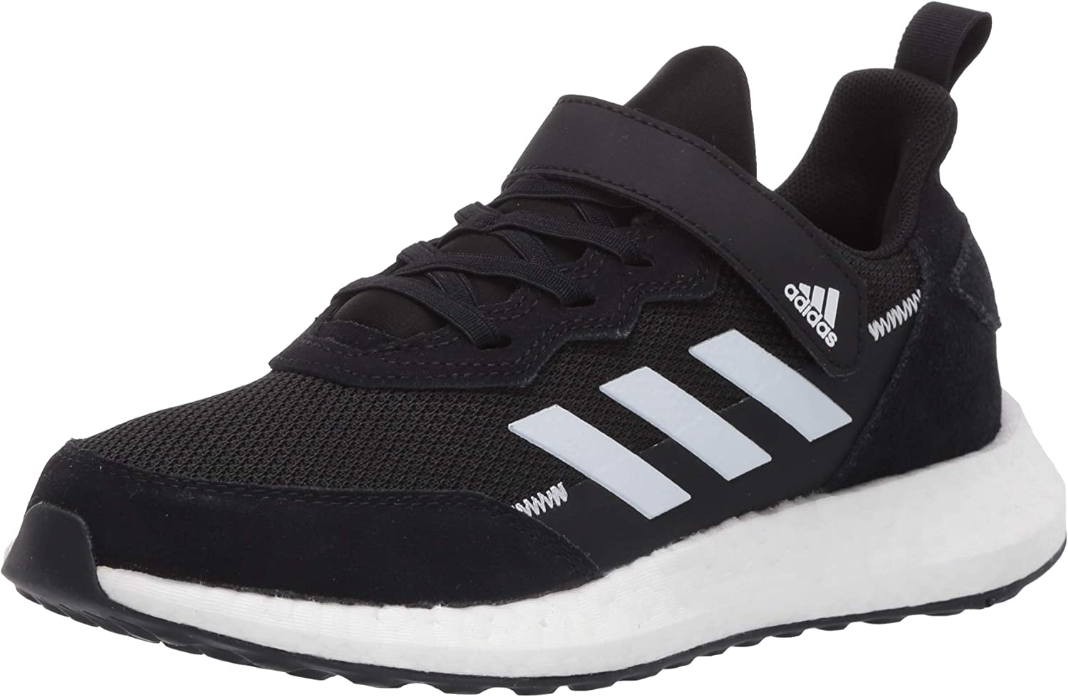 adidas Unisex-Child Rapidalux Suede and Leather Cross Trainer