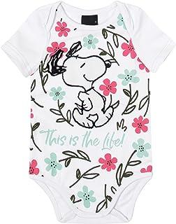 Body Snoopy® Em Cotton Malwee Kids, Branco, criança-unissex, 1