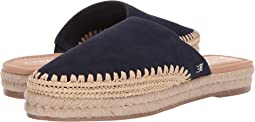 Navy Cow Suede Leather