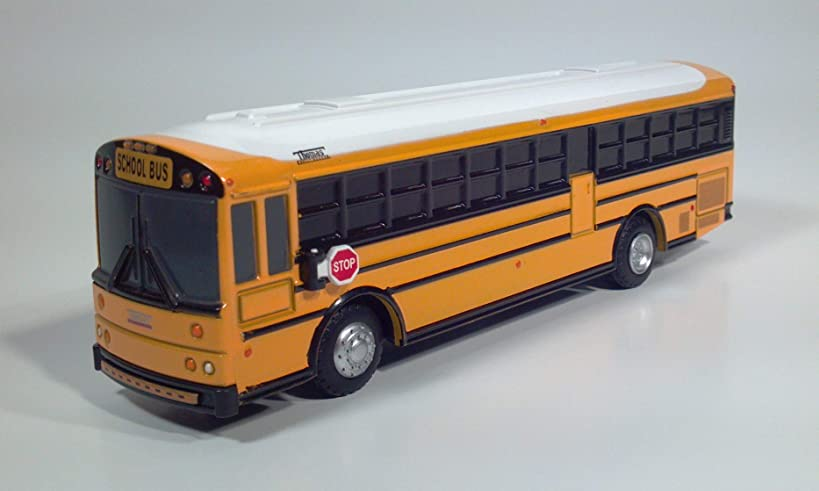 Thomas Saf-T-Liner HDX School Bus (Yellow/White)