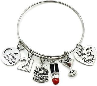 5204f1295 Kit's Kiss Birthday Gift for Women, 10th 13th 16th 18th 21st 30th 40th 50th  55th