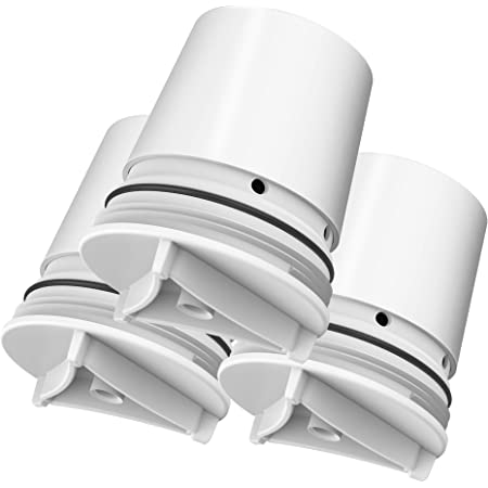 AQUACREST FM-15RA Faucet Water Filter, Compatible with Culligan FM-15RA Water Filter, Culligan FM-15A Filtration System, White Finish (Pack of 3)