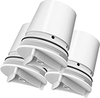 AQUA CREST FM-15RA Faucet Water Filter, Compatible with Culligan FM-15RA Water Filter, Culligan FM-15A Filtration System, White Finish (Pack of 3)