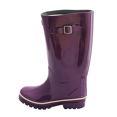 8771eb1d1c62 Jileon Wide Calf Wellies fit up to 45cm Calves - Wide in Foot and Ankle