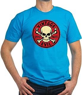 CafePress - Vintage Evil 007C - Men's Fitted T-Shirt, Stylish Printed Vintage Fit T-Shirt