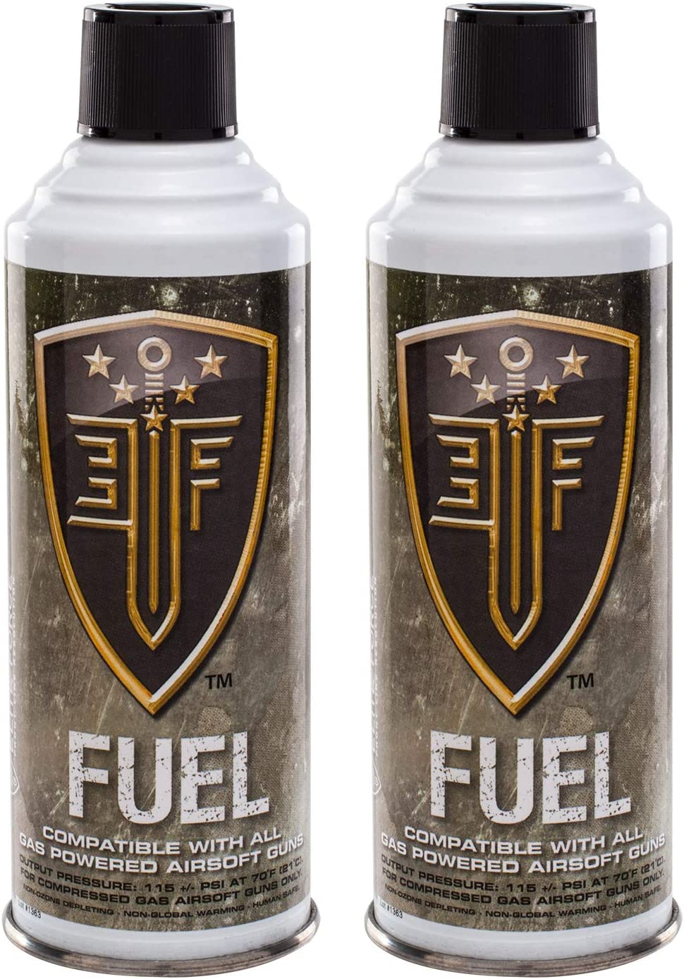 Elite Force depot Fuel Green Gas for 1 year warranty Guns 2 of Pack Airsoft