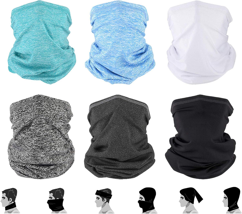 Gators Face Mask Neck Gaiter - Breathable Face Cover Neck Mask, Gaiters Face Mask for Men & Woman