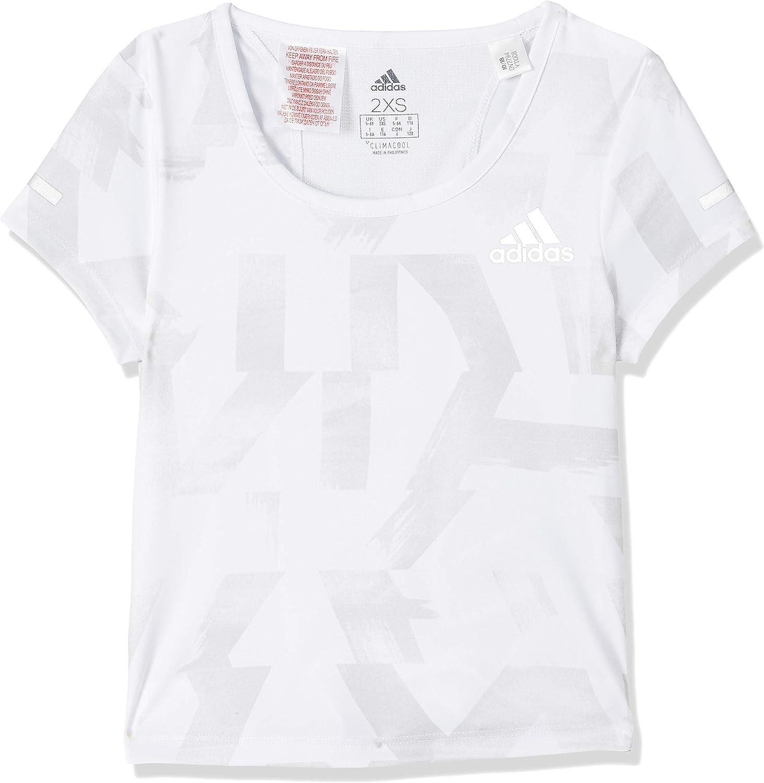 adidas Girls Tshirt Max 41% OFF Run Tee Kids Young Running Fashion Training Max 55% OFF