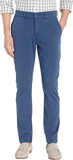 Classic Slim Straight Chino Pants in Insignia Blue
