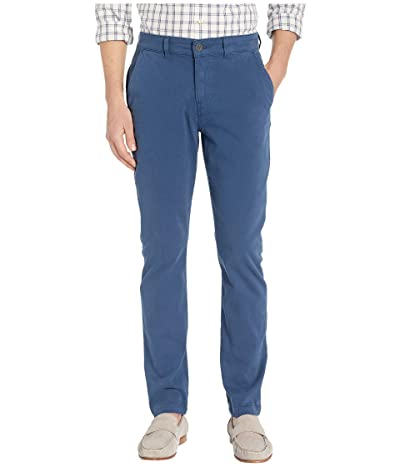 Hudson Jeans Classic Slim Straight Chino Pants in Insignia Blue (Insignia Blue) Men