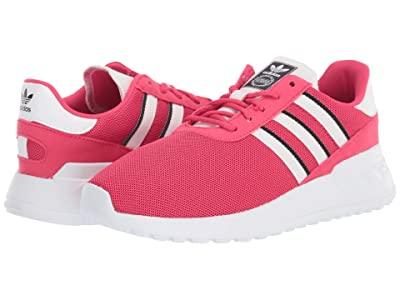 adidas Originals Kids LA Trainer Lite C (Little Kid) (Power Pink/Footwear White/Core Black) Girls Shoes