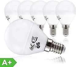 B.K.Licht LED Lampe Energiesparlampe E14 5er Set LED Birne 5 Watt 470 Lumen Leuchtmittel ersetzt 40 Watt Glühbirne warmweiss 3000K Abstrahlwinkel 180° Tropfen