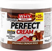 WHY SPORT Crunchy Rock Hazelnut Perfect Cream with Hazelnut Grains – Protein Cream Without Sugar 750g Format Estimated Price : £ 17,89