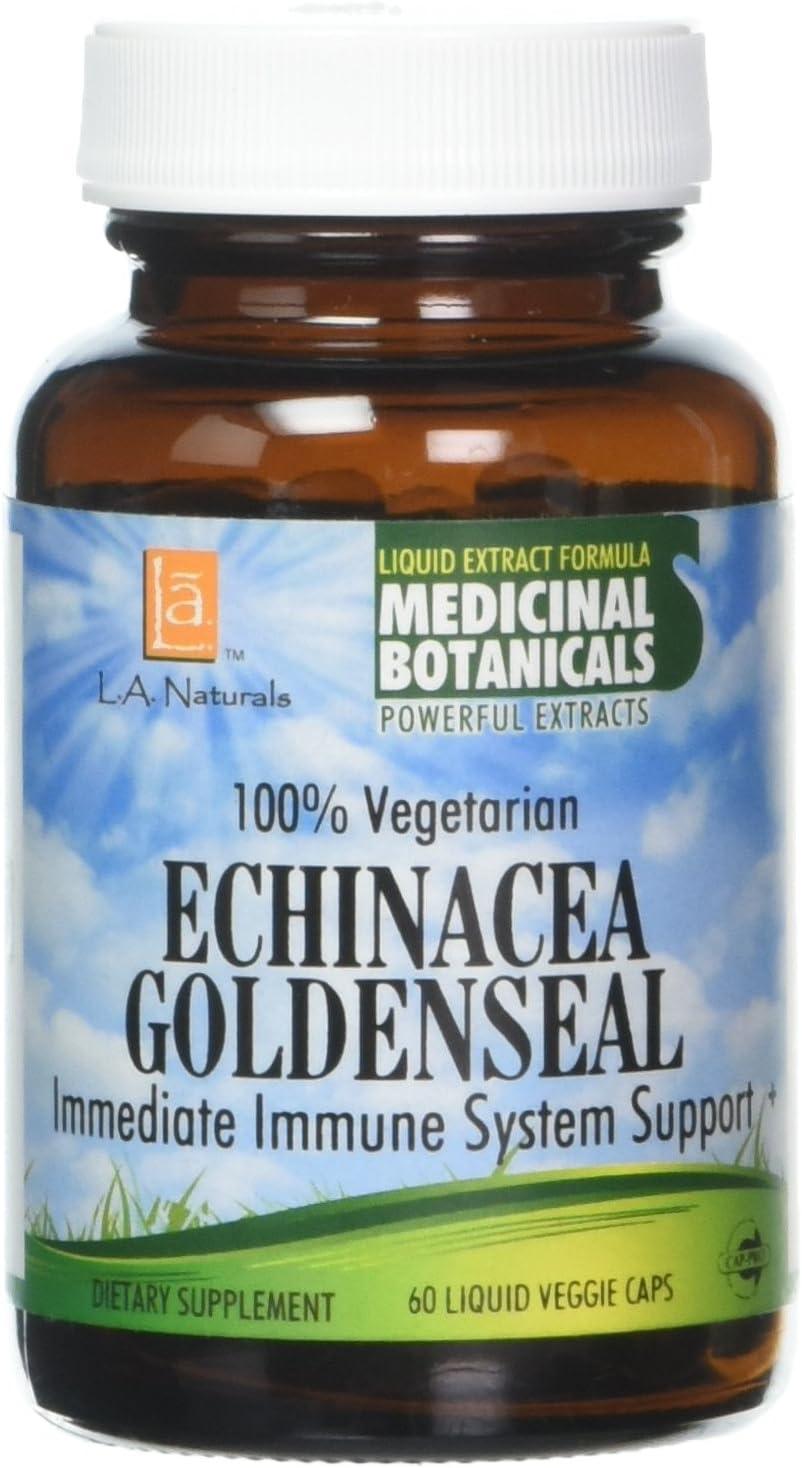 Regular dealer L Max 86% OFF A NATURALS Echinacea Goldenseal Pound 60 Vgc 0.02