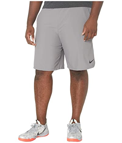 Nike Big Tall Flex Shorts Woven 2.0 (Gunsmoke/Black) Men
