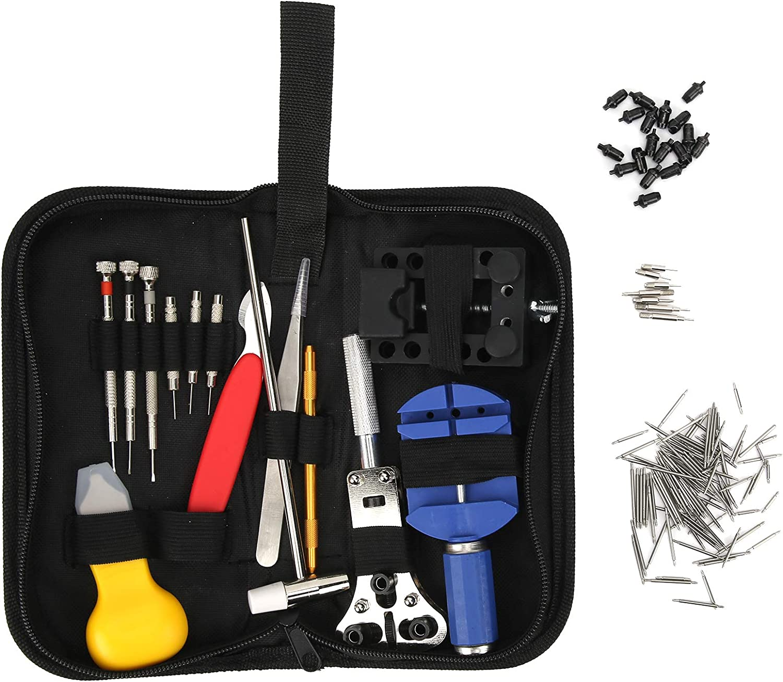 Watch Repairing Kit 147pcs Tools Max 85% San Jose Mall OFF Maintenance Ba