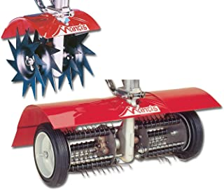 Mantis 7321 Power Tiller Aerator/Dethatcher Combo Attachment for Gardening (Renewed)