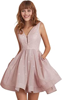 Simple Little Homecoming Dress Short Party Prom Dresses Ball Gown