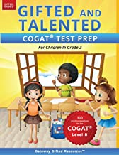 Gifted and Talented COGAT Test Prep Grade 2: Gifted Test Prep Book for the COGAT Level 8; Workbook for Children in Grade 2 PDF