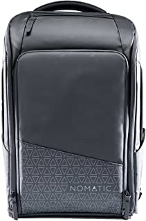 NOMATIC Backpack- Slim Black Water Resistant Anti-Theft 20L Laptop Bag RFID Protected