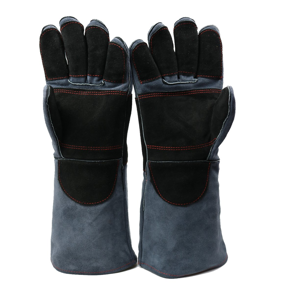 Arc Welding Gloves Dourr Forging Gloves Heat Fire Resistant Mittens For Mig Tig Welders Oven Grill Fireplace Hot Pan Stove Bbq Welders Gloves 16 Inch Black Gray Buy Online In Malta Missing Category Value Products In Malta