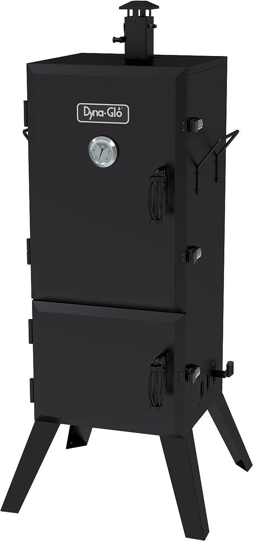 "Dyna-Glo DGX780BDC-D 36"" Vertical Charcoal Smoker – Best Family Smoker"