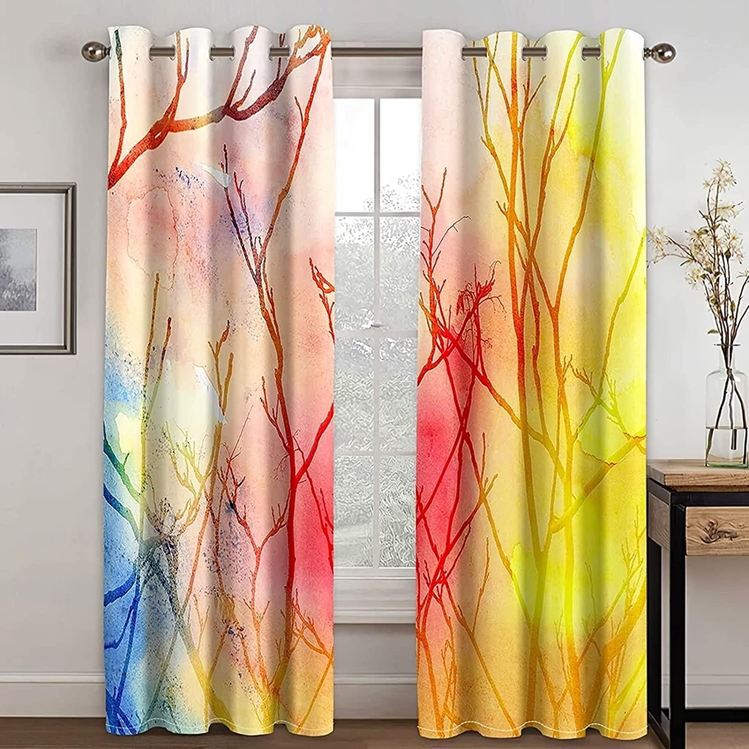 Aooaz Charlotte Mall Chic Curtains Small Window Polyester Free Shipping Cheap Bargain Gift 98 Panels 2