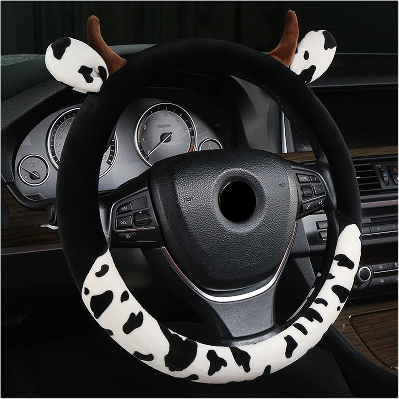 Lingwu Steering Wheel Cover Shape car Bull Opening large Award-winning store release sale Plush