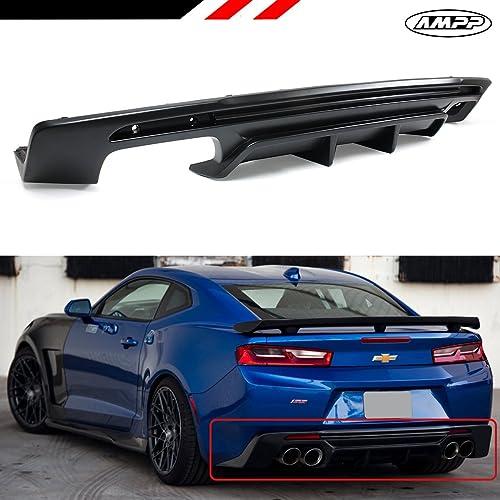 For 10-13 Chevy Camaro OE Shark Fin Rear Bumper Lip Diffuser Polyurethane