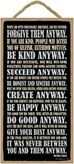Best mother teresa saying do it anyway Reviews