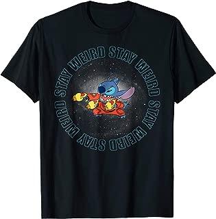 Stay Weird Stitch Space T-Shirt