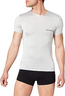 Emporio Armani Men's Underwear T-Shirt Shiny Microfiber