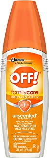 OFF!® FamilyCare Insect Repellent IV (Unscented) 6 fluid oz
