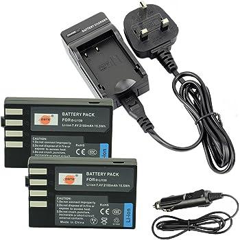 2x Batería Para PENTAX OPTIO K-R//KR//K30//K-2