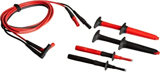 Fluke TL223-1 SureGrip Electrical Test Lead Set with SureGrip Insulated Test Probes