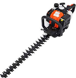 """ToolTuff 24"""" Blade Hedge Trimmer, 26cc Gas Power, Double Sided"""