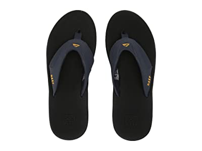 Reef Fanning (Navy/Yellow) Men