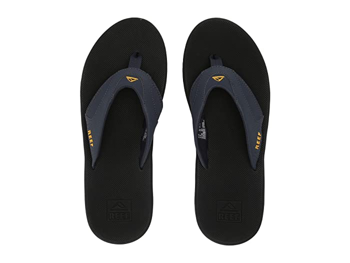 Reef  Fanning (Navy/Yellow) Mens Sandals