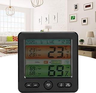 Compteur de température d'humidité, thermomètre numérique intérieur hygro-thermomètre numérique avec invites de confort po...