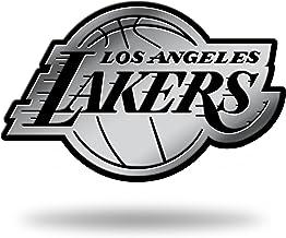 NBA Los Angeles Lakers Chrome Finished Auto Emblem 3D Sticker