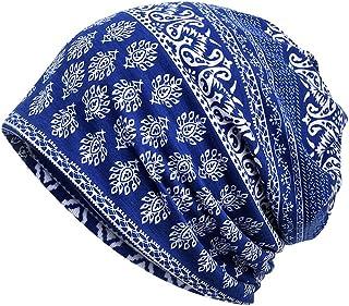 Luccy K Women's Cotton Beanie Lightweight Turban Slouchy Hat Cap