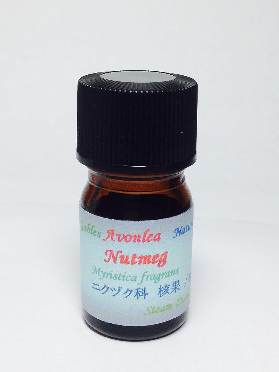 髄リマ考えるナツメグ 100% ピュア エッセンシャルオイル 高級精油 5ml