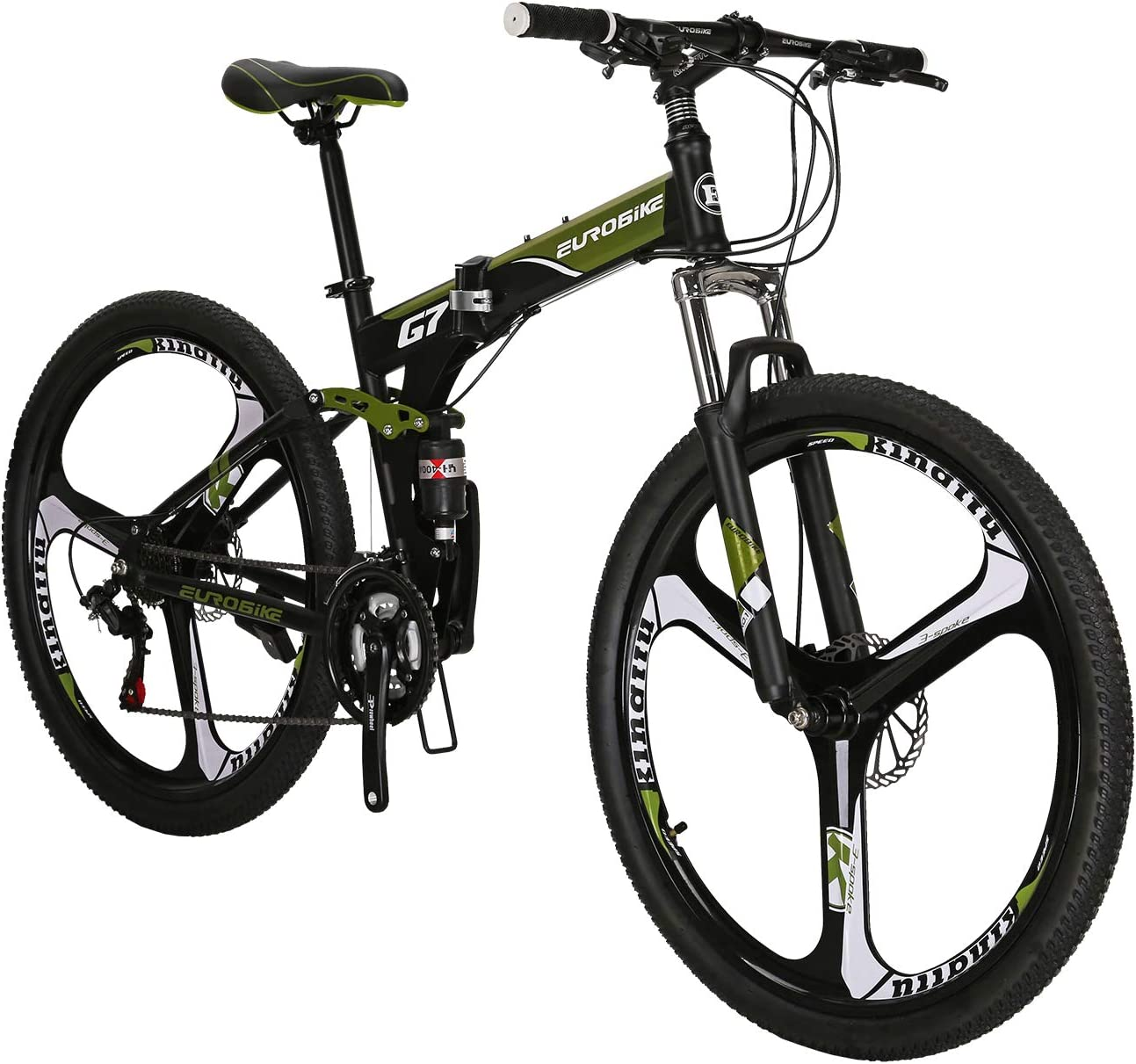 YH-G7 Folding Mountain Bike Full Shifter 27. Mail order cheap Suspension Ranking TOP13 21 Speed