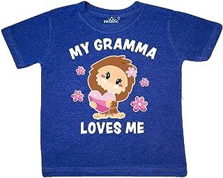 inktastic My Gigi Loves Me with Bigfoot Baby T-Shirt