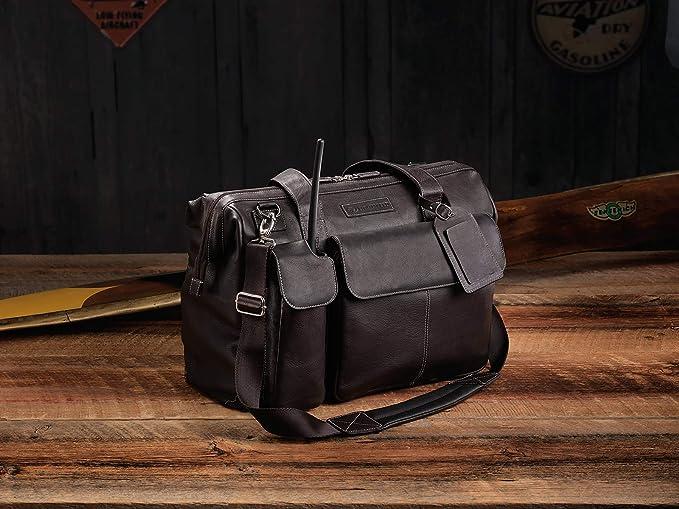 Lightspeed Aviation - The Gann Leather Flight Bag