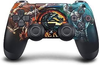 PS4 DualShock Manette sans Fil Pro Console – Manette PlayStation4 avec Prise en Main Douce et Skin Exclusive Version perso...