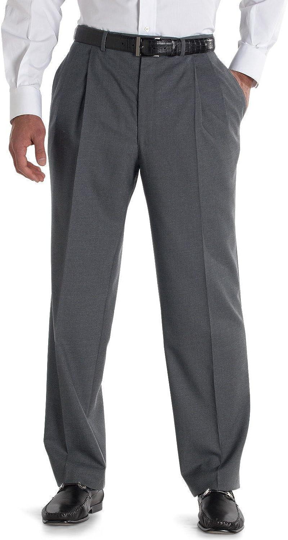 Jack Victor Nano Performance Double-Pleat Dress Trousers