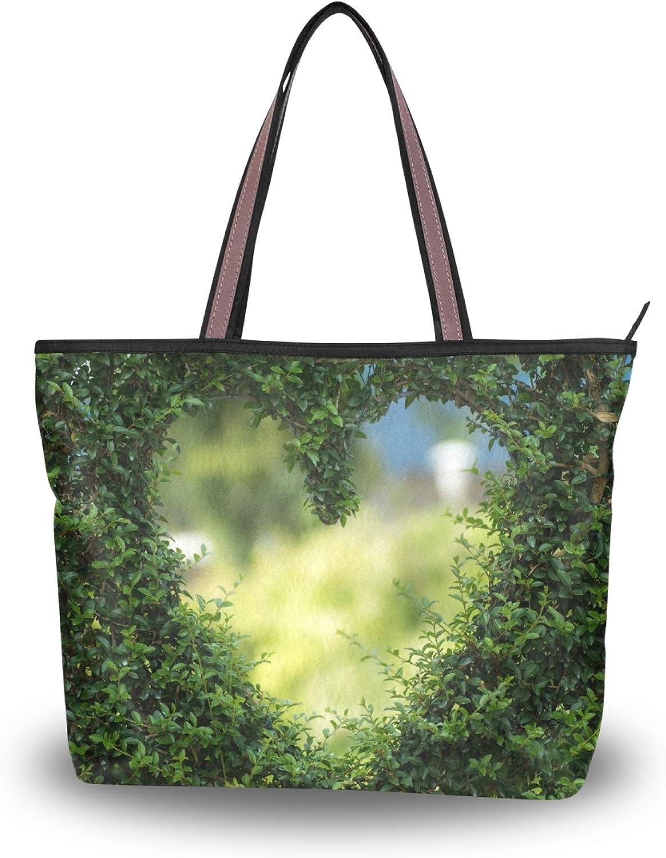 Tote Bag Handbag for 2021 autumn and winter new Women Pu Handle store Top HeartShoulder Tree
