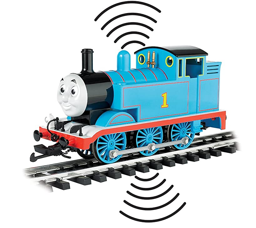 Bachmann Trains Train Locomotive Thomas & Friends DCC Sound Locomotive Thomas The Tank Engine with Moving Eyes Large Scale